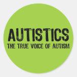 Voice of Autism Stickers