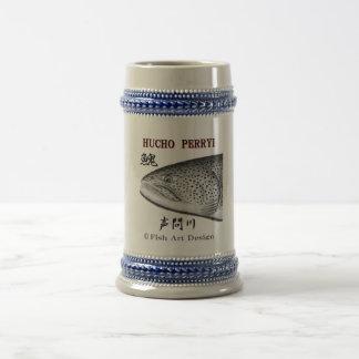 Voice question river itou! Hokkaido < FISH ART JAP Coffee Mugs