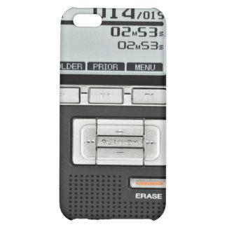 Voice Recorder iPhone 4/4S Case Cover - Black2