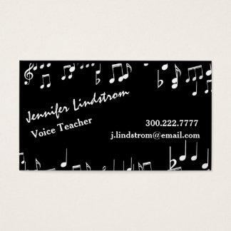 VOICE TEACHER Business Card Template