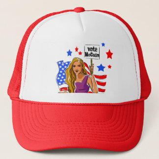 VOICE YOUR OPINION TRUCKER HAT