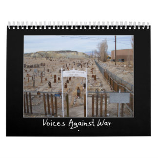 Voices Against War Calendar