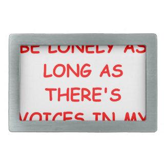 voices rectangular belt buckles