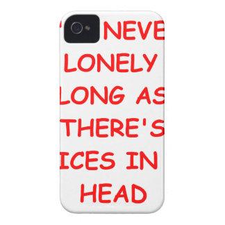 voices iPhone 4 case