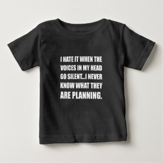 Voices Go Silent Planning Baby T-Shirt