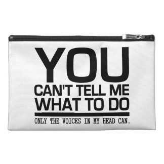 VOICES IN MY HEAD custom accessory bags