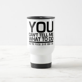 VOICES IN MY HEAD mug - choose style & color