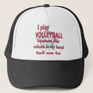 VOICES IN MY HEAD VOLLEYBALL.png Trucker Hat
