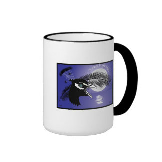 Voices into the night cup mugs