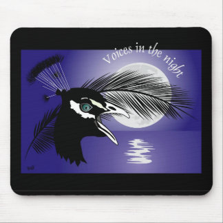 Voices into the night mouse PAD