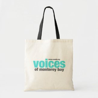 Voices of Monterey Bay tote bag