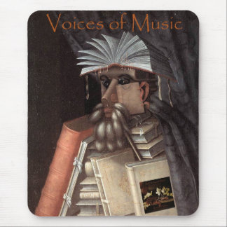 Voices of Music Librarian Mug Mouse Pad