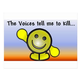 Voices Postcard