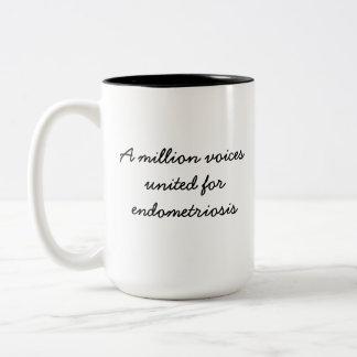 voices united for endometriosis Coffee/Tea Mug