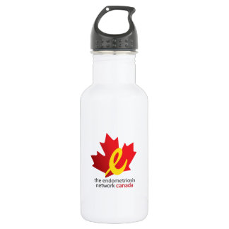 voices united for endometriosis water bottle
