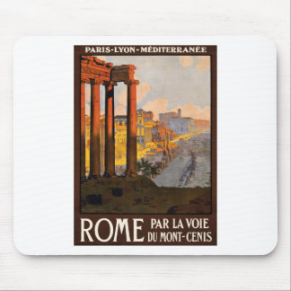 Voie du Mont-Cenis del la del par de Roma Alfombrilla De Raton