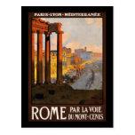 Voie du Mont-Cenis del la del par de Roma Tarjetas Postales