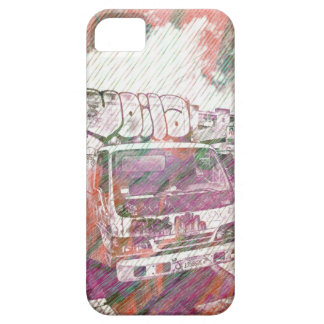 VOILA Le graffiti Truck SanFrancisco iPhone SE/5/5s Case