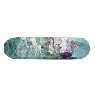VOILA Le graffiti Truck SanFrancisco Skateboard