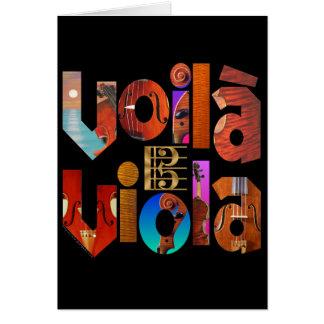 Voilà Viola! Card