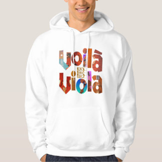 Voilà Viola! Hoodie