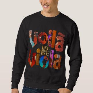 Voilà Viola! Sweatshirt