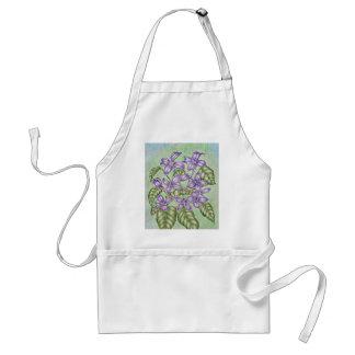 voilet purple adult apron