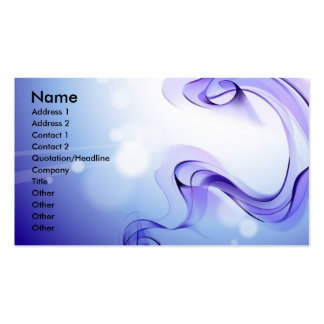 voilet_smoke_art-1920x1200, Name, Address 1, Ad... Double-Sided Standard Business Cards (Pack Of 100)
