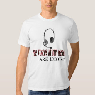 """""""VoIP in my Head"""" T-Shirt"""
