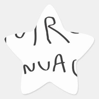 voire le nuage passe star sticker