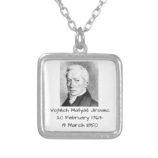 Vojtech Matyas Jirovec Silver Plated Necklace