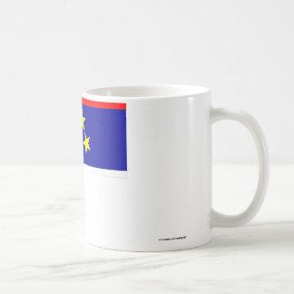 Vojvodina Flag Classic White Coffee Mug