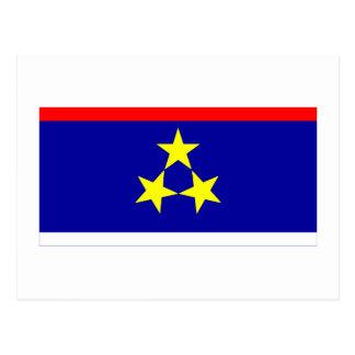 Vojvodina Flag Postcard