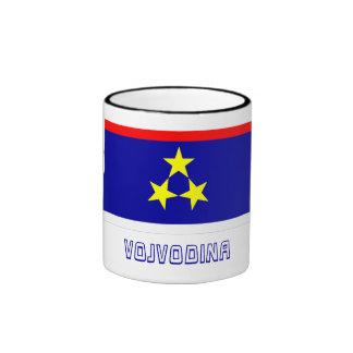 Vojvodina Flag with Name Ringer Coffee Mug