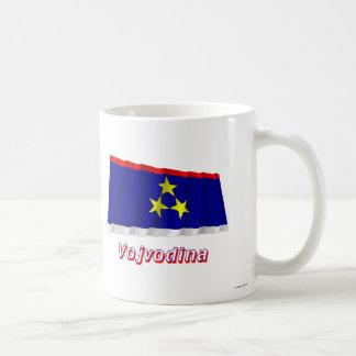 Vojvodina Waving Flag with Name Classic White Coffee Mug