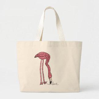vol25- flamingo love tote bags