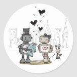 vol25 - from the heart classic round sticker