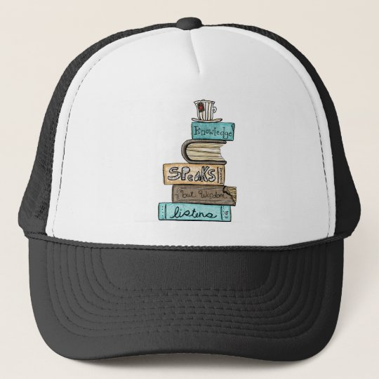 vol25- knowledge speaks trucker hat