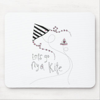 vol25 lets fly a kite mouse pad
