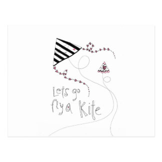 vol25 lets fly a kite postcards