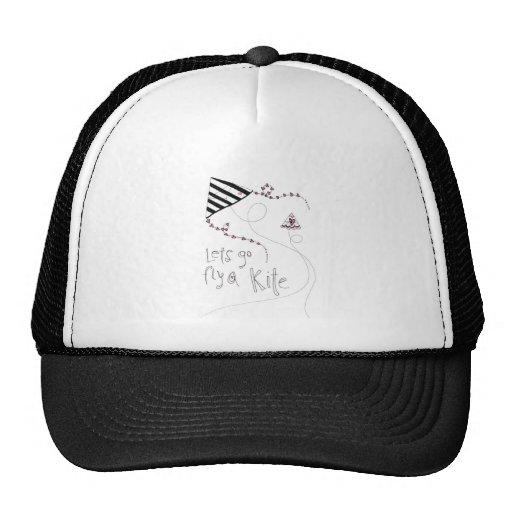 vol25 lets fly a kite trucker hat
