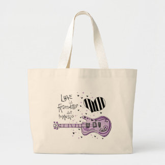 vol25 love is friendship large tote bag