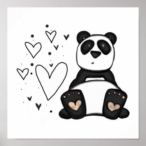 Vol25 panda love poster