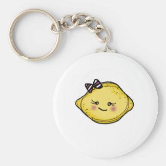 vol25 rosey cheeked lemon head keychain