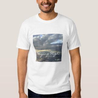 """""""Volando arriba"""" la camiseta Playera"""