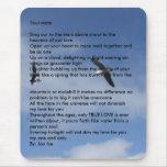Volando libremente, alma MateSing hacia fuera al Alfombrilla De Ratón