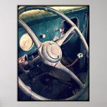Volante 1939 de Ford Poster