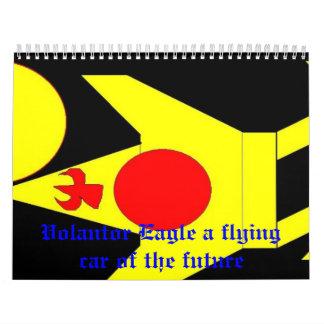 Volantor3, Volantor Eagle a flying car of the f... Calendar