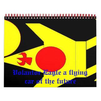 Volantor3, Volantor Eagle a flying... - Customized Calendar