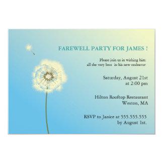 Volar arriba - invitaciones del fiesta de anuncio